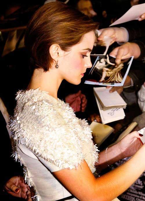 Pixie Cut Emma Watson Pictures