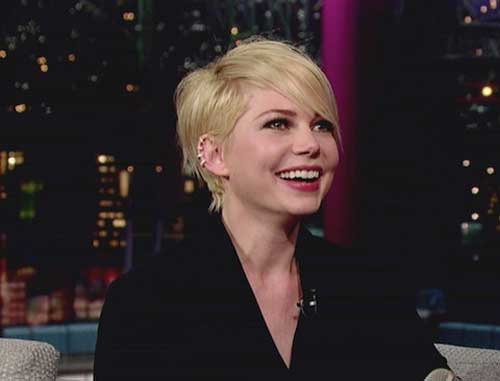 Best Pixie Cut Michelle Williams