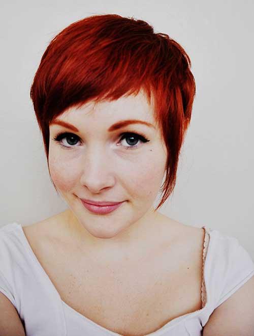 Pixie Cut Red Hair Styles