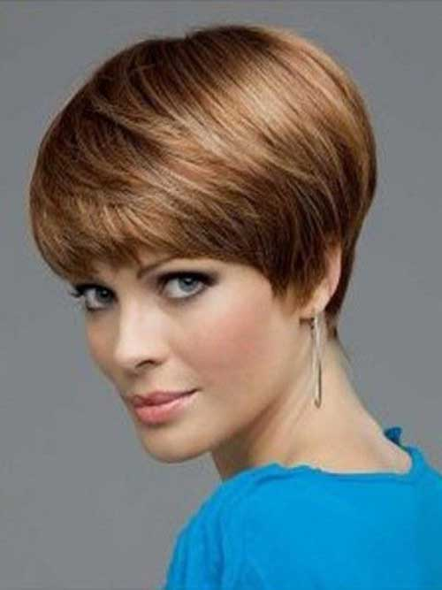 Best Pixie Haircut with Bangs for Oval Face