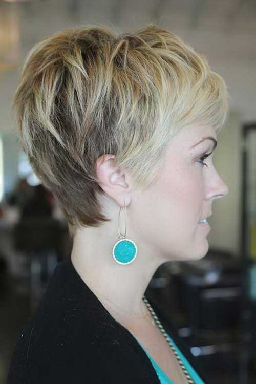 Pixie Haircuts Side Back View Look
