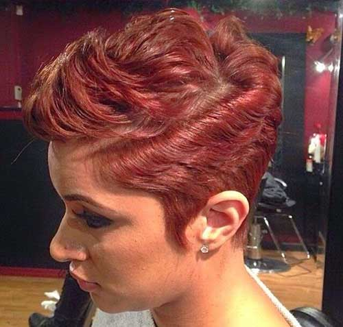 Swell Best Hair Color For Pixie Cuts Pixie Cut 2015 Hairstyle Inspiration Daily Dogsangcom