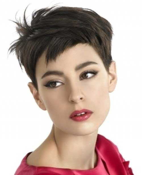 Short Choppy Pixie Haircuts for Oval Face