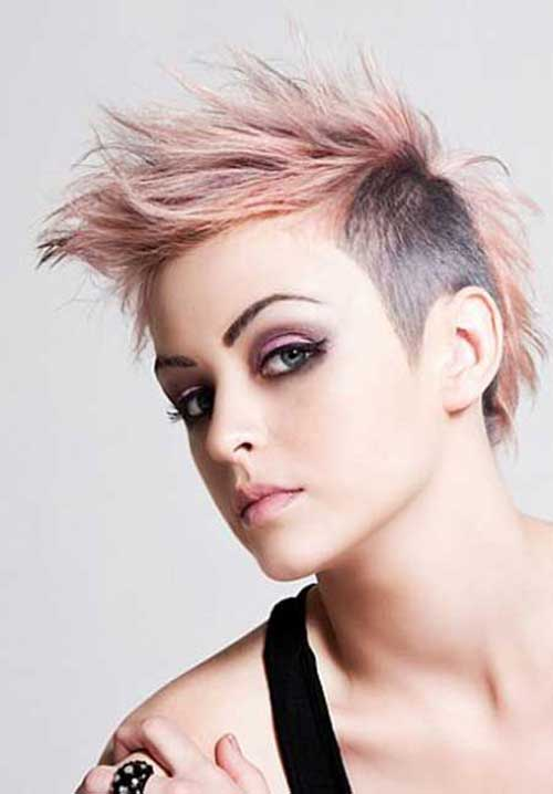 Best Short Hair Shaved Sides Pixie