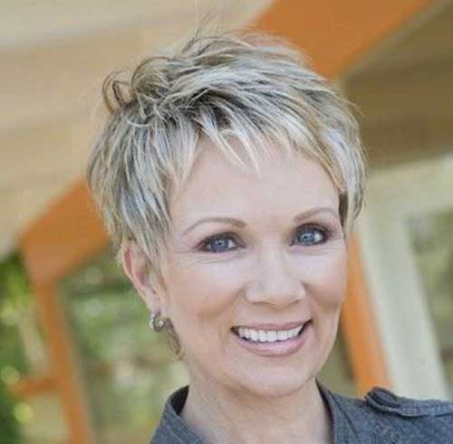 Short Pixie Hairstyles 2015 Over 50