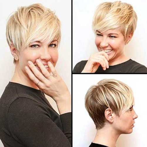 Short Celebrity Pixie Cuts 2015