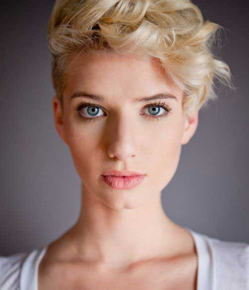 Short Pixie Hair Undercut