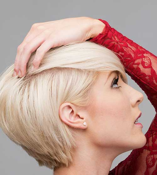 Soft Blonde Pixie Hair Color Styles