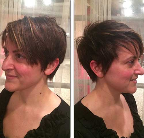 Textured Long Pixie Hairstyles