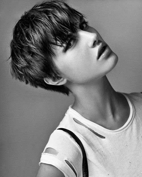 Cool Textured Pixie Haircuts