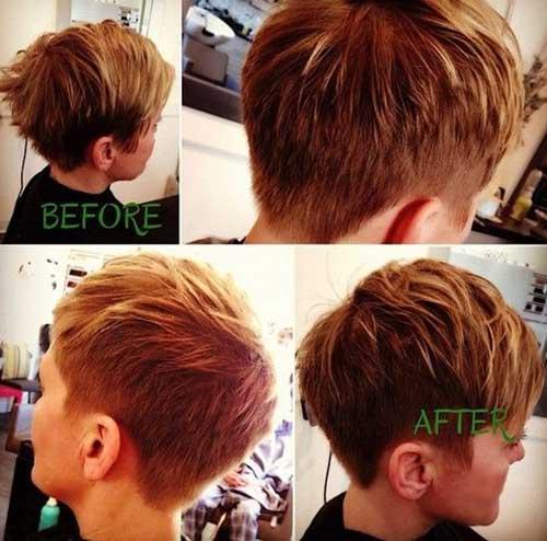 Thick Short Pixie Hair Cuts