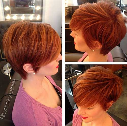 20 Red Pixie Cuts