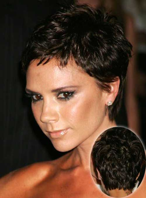 Victoria Beckham Pixie Cut | Black Hairstyle and Haircuts