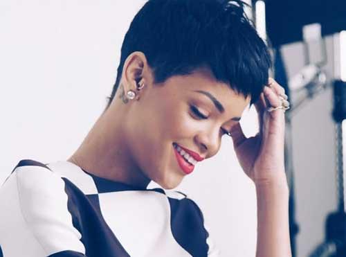 Rihanna Pixie Hair-13