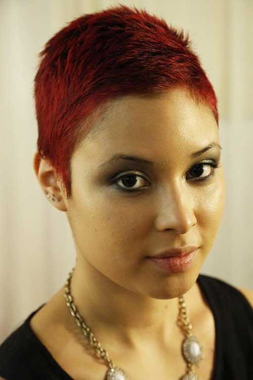 Red Pixie Hair-14
