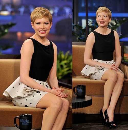 Michelle Williams Pixie Hair-7