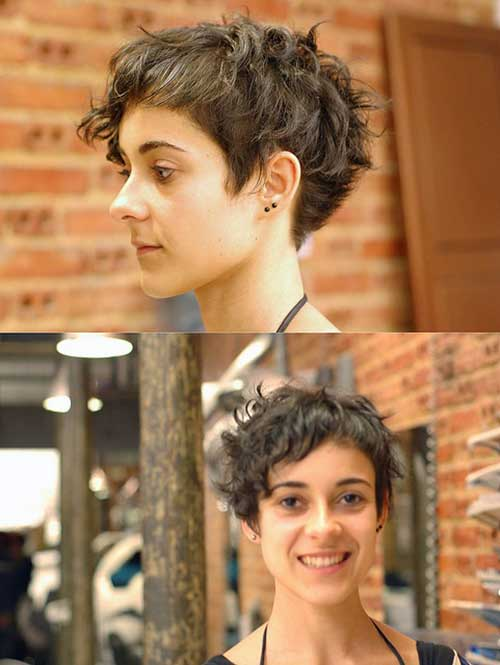 Pixie Curly Hairstyles-7