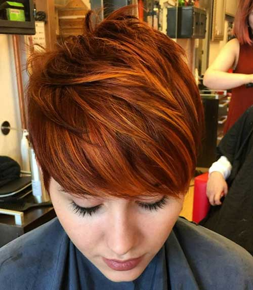 20 Red Pixie Hair