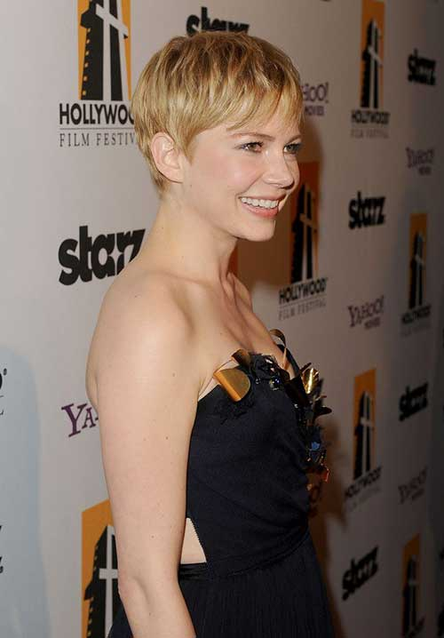 Michelle Williams Pixie Hair-9