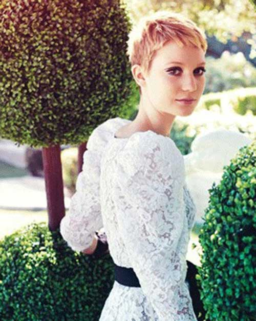 Outstanding 25 Celebrity Pixie Cuts Pixie Cut 2015 Hairstyle Inspiration Daily Dogsangcom