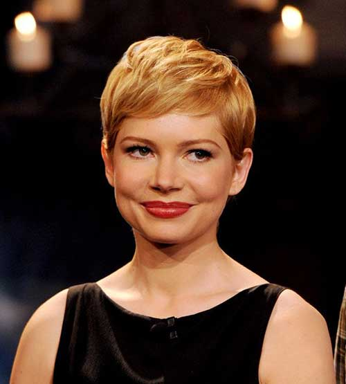 Pixie Haircut Michelle Williams
