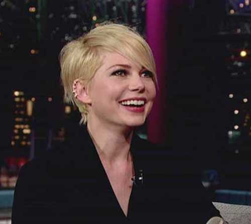 Pixie Cut Michelle Williams