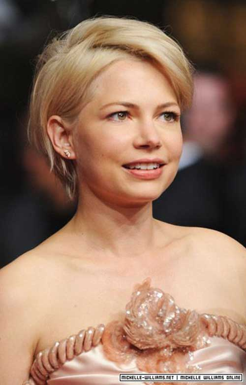 Pixie Cut Michelle Williams-13