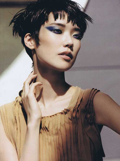 Pixie Cut Asian-14