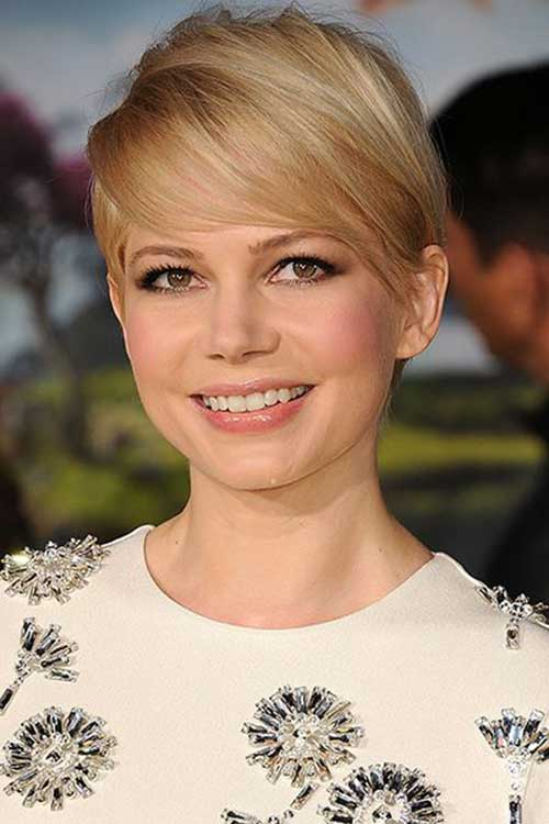 Pixie Cut Michelle Williams-14