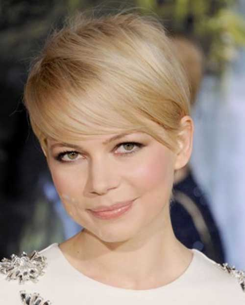 Pixie Cut Michelle Williams-16