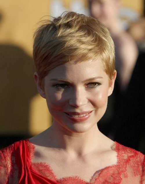 Pixie Cut Michelle Williams-18