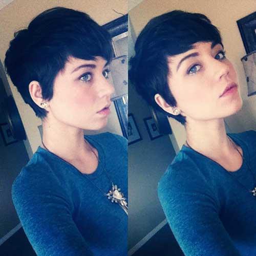 Pixie Cuts Brunette-19