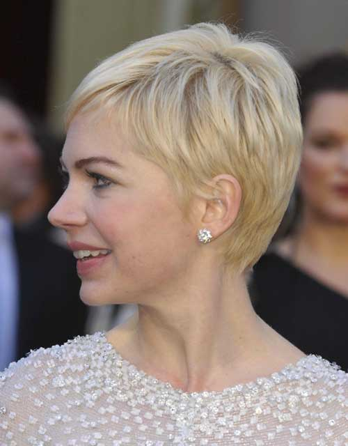 Pixie Cut Michelle Williams-20