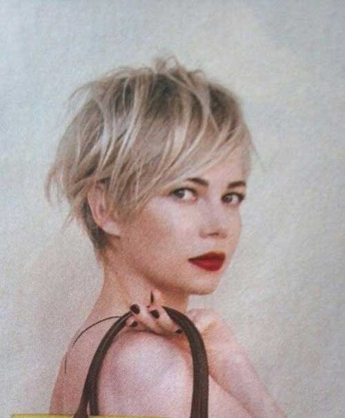 Pixie Cut Michelle Williams-6