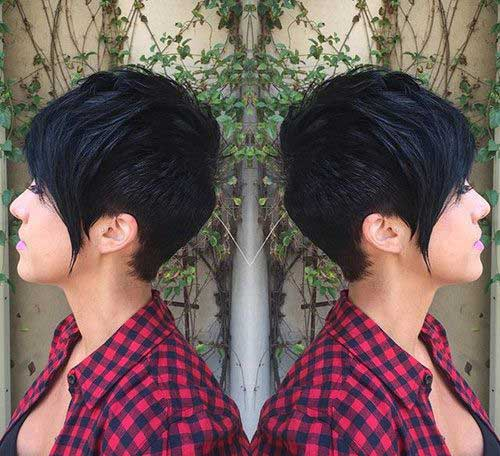 Pixie Cut with Long Bangs-6