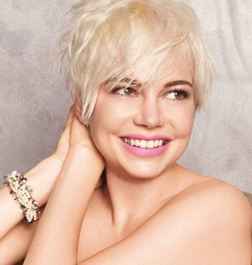 Pixie Cut Michelle Williams-7