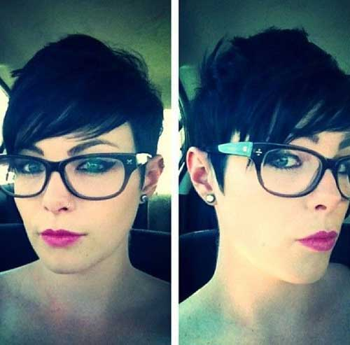Pixie Cut with Long Bangs-7