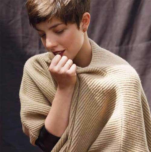 Super 25 Brown Pixie Haircuts Pixie Cut 2015 Hairstyles For Women Draintrainus
