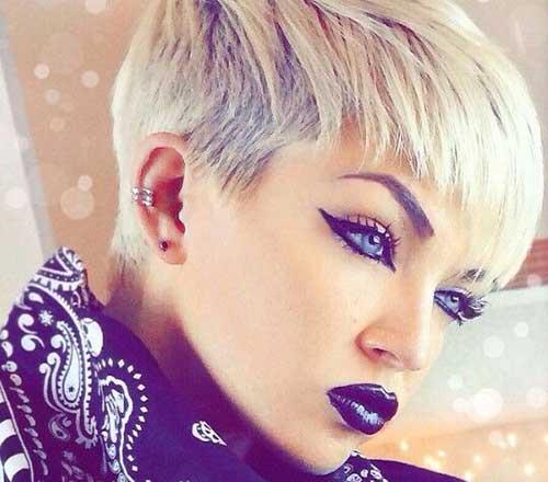 Sensational 20 Short Funky Pixie Hairstyles Pixie Cut 2015 Short Hairstyles Gunalazisus