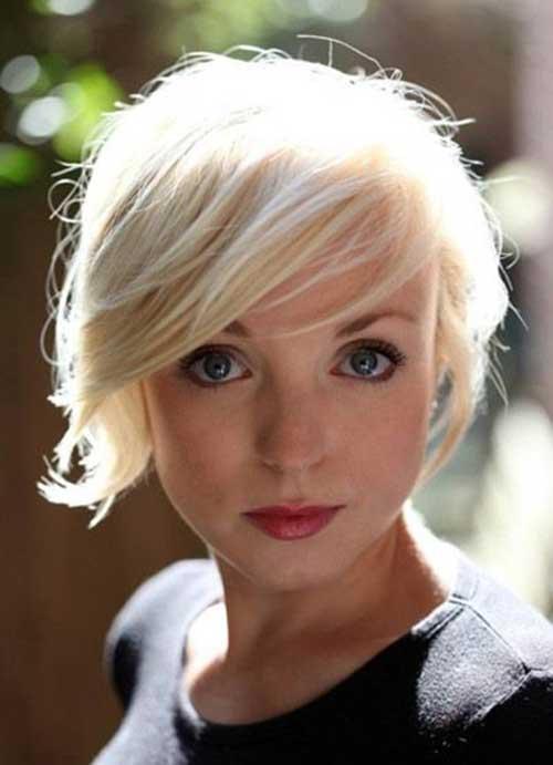 Blonde Pixie Haircut