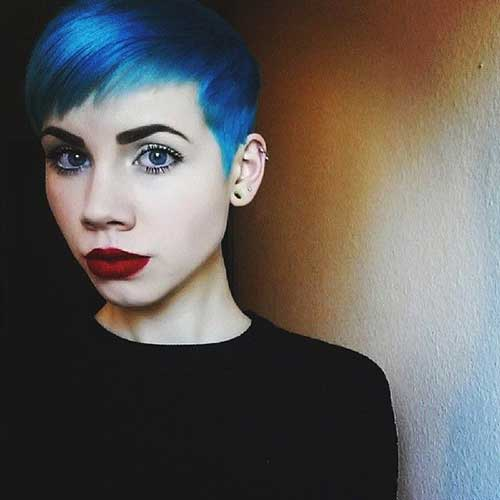 Pixie Cuts And Color-13