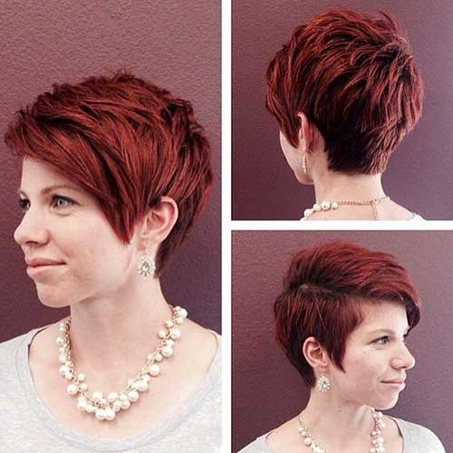 Pixie Cuts And Color-17