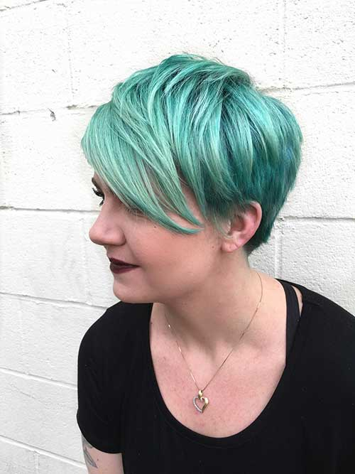 Pixie Cuts And Color-26