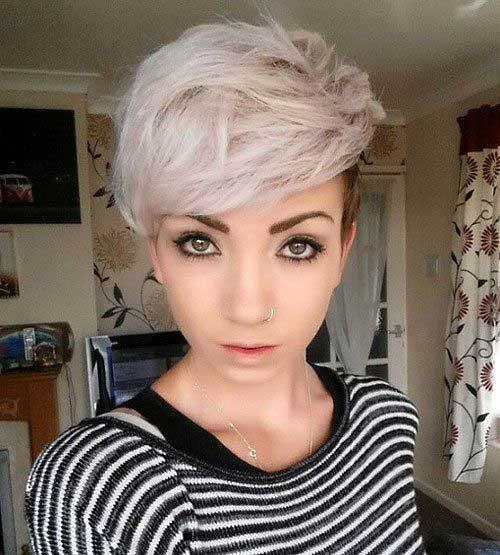 Pixie Asymmetrical Hair