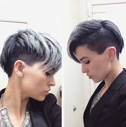 Pixie Cuts with Color