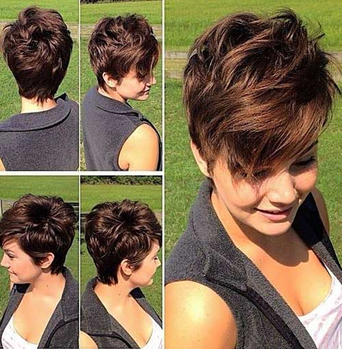 Pixie Cut Thick Hair