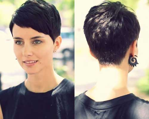 Asymmetrical Pixie Haircuts