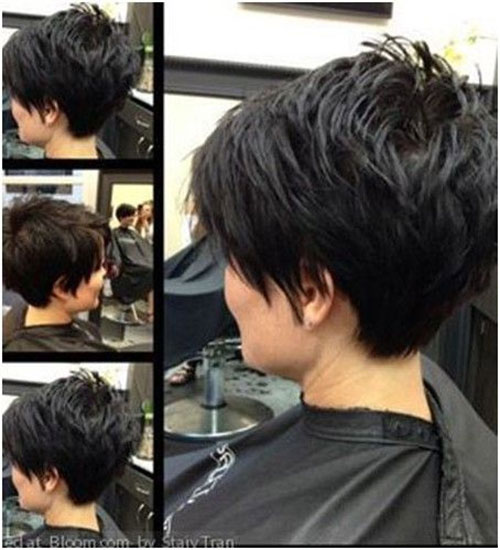Back Of Pixie Short Hairstyles