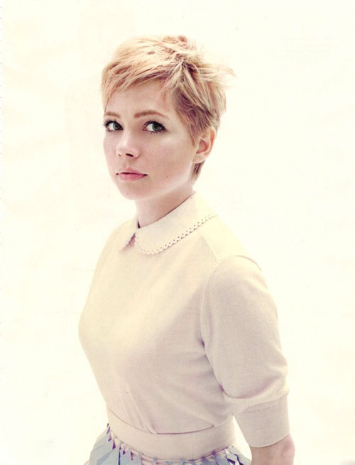 Michelle Williams Pixie Haircut Pictures