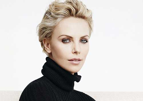 20 Charlize Theron Pixie Hair